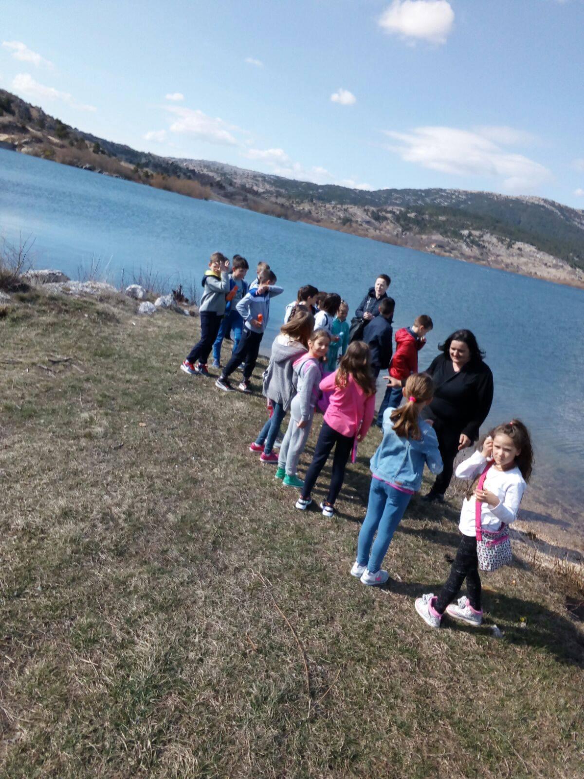 SVJETSKI DAN VODA: Učenici posjetili jezero Tribistovo