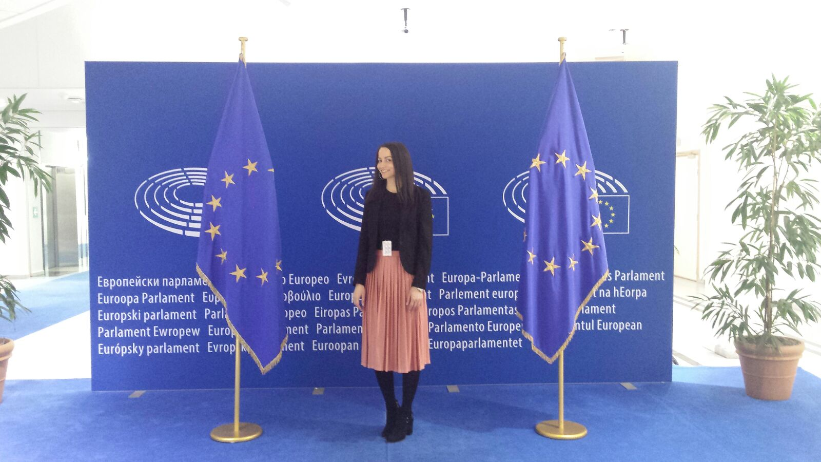LJUBICA MARIĆ: Stažiranje u Europskom parlamentu je vrlo vrijedno iskustvo
