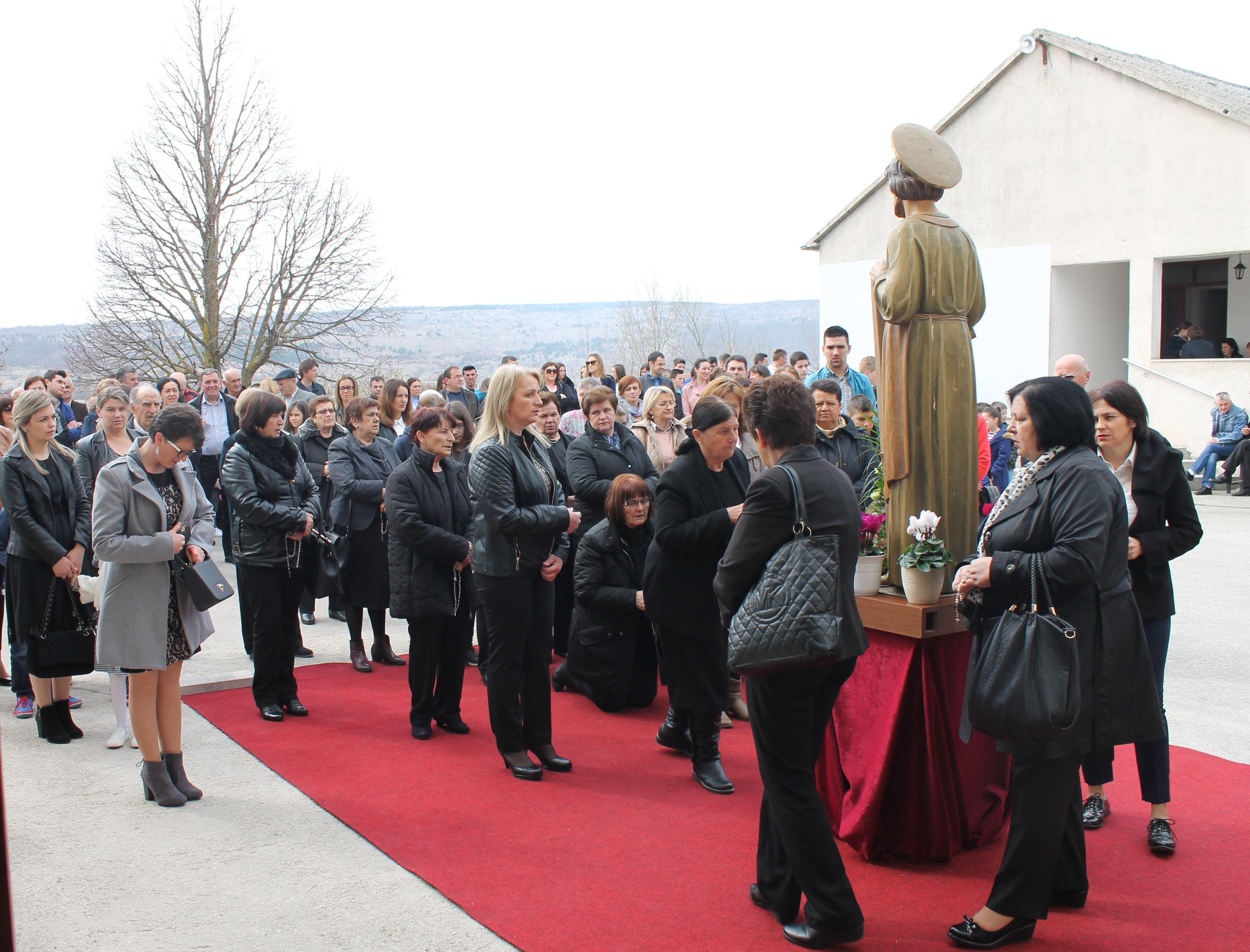 Posušje: 600 vjernika na proslavi svetog Josipa u Vinjanima