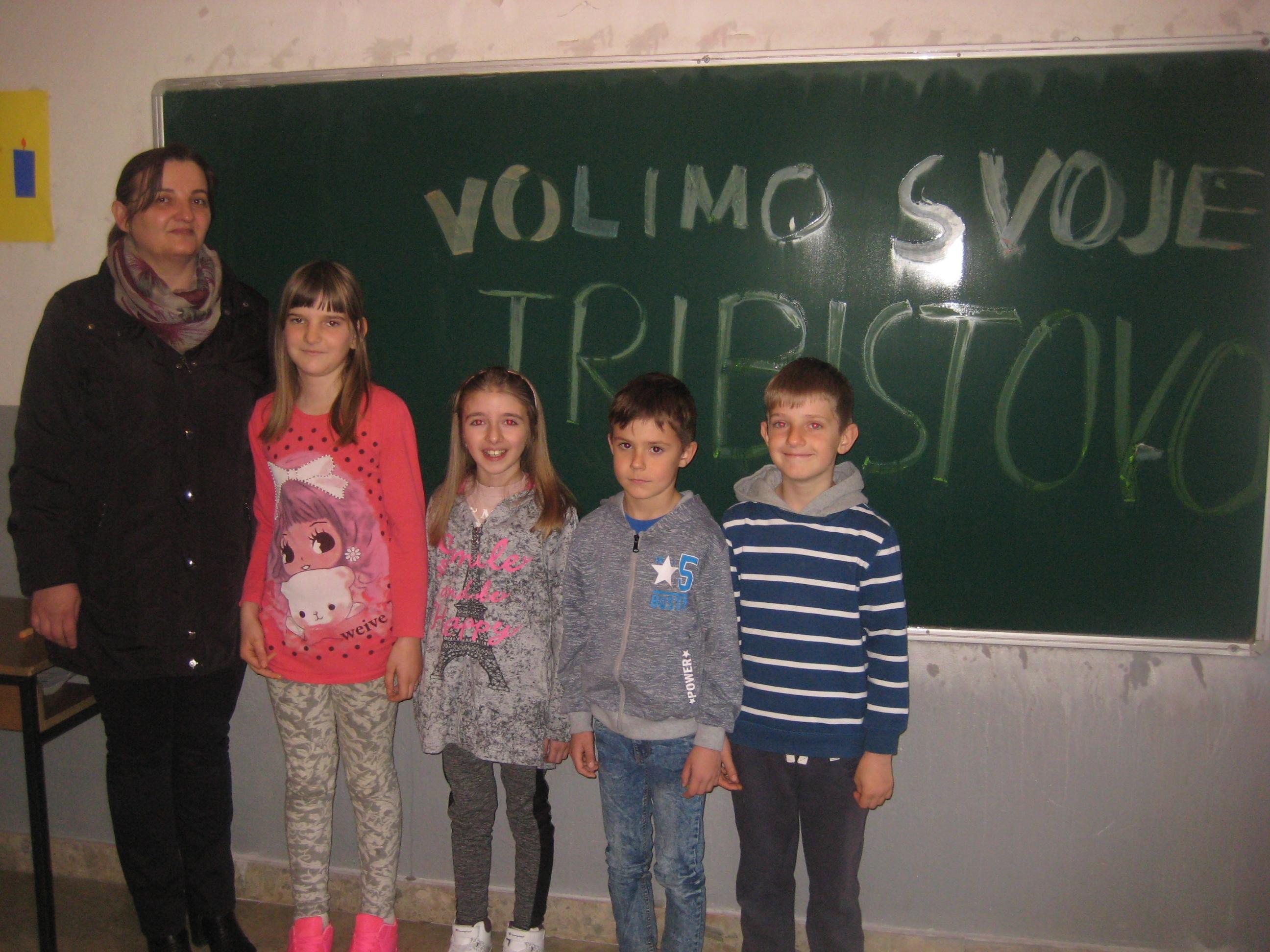 TRIBISTOVO: U najvećoj školi i mala škola s četiri osnovca