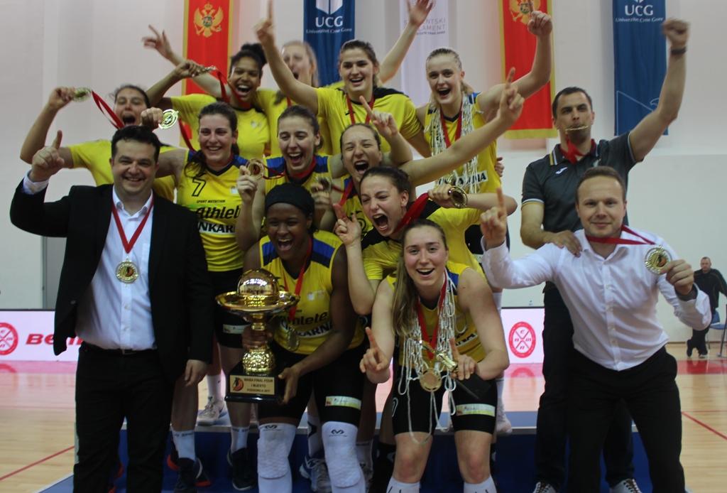 Andrea Marić s Celjem do naslova pobjednika WABA lige