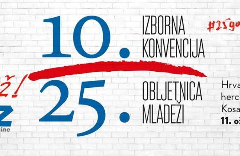 MOSTAR: 10. izborna konvencija Mladeži HDZ BiH