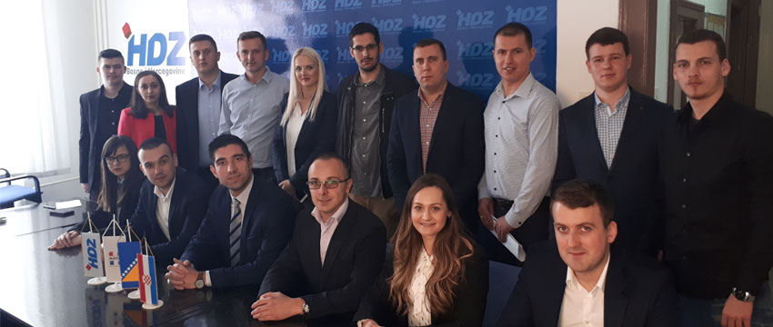 Održana Konstituirajuća sjednica Predsjedništva Mladeži HDZ BiH