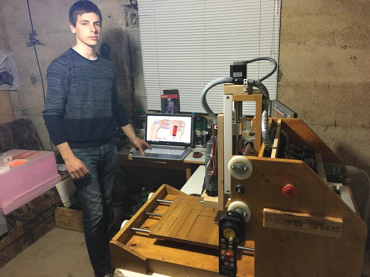 Zvonimir Šego – mladi posuški inovator koji stvara genijalne izume
