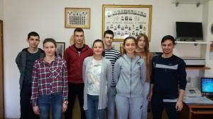 Gimnazijalci na federalnom natjecanju iz matematike