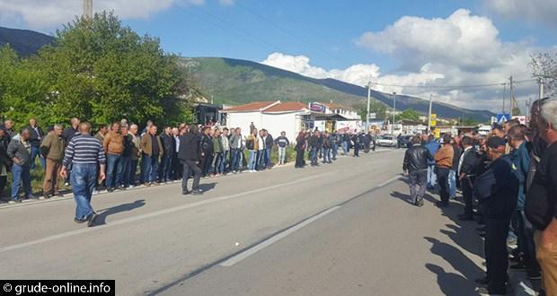 Policija prekinula prosvjed UZB na graničnom prijelazu Gorica