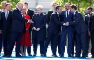 Grabar-Kitarović stajala odmah do Trumpa: 'NATO nije usmjeren ni protiv koga'