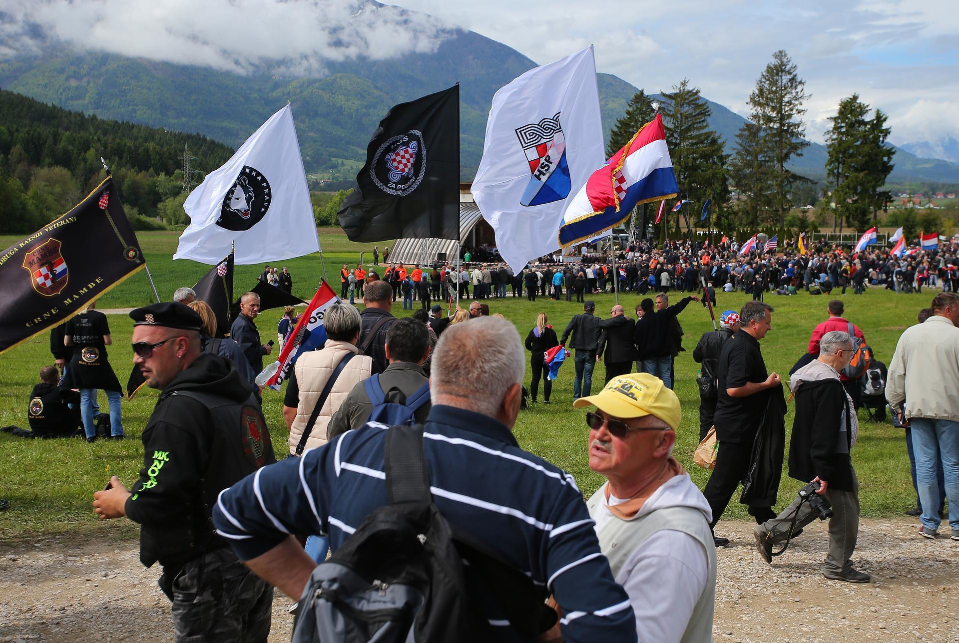 72. GODIŠNJICA: Oko 15 tisuća ljudi na komemoraciji u Bleiburgu