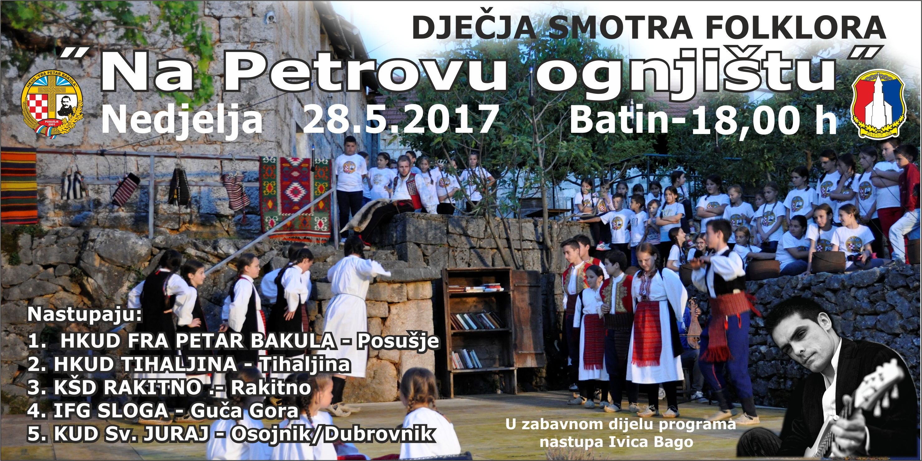 "HKUD ""fra Petar Bakula"": Tradicionalna smotra dječjeg folklora"