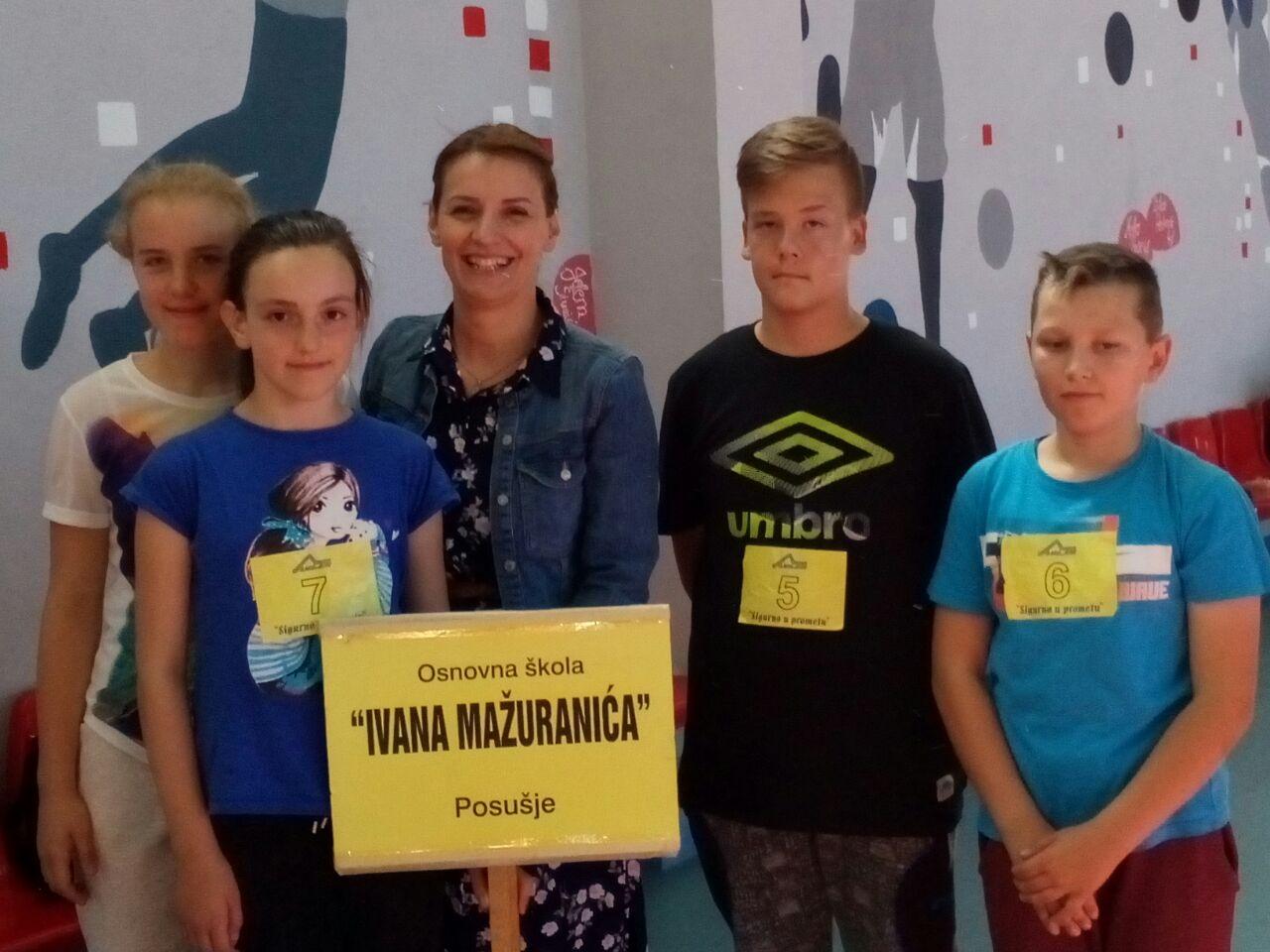 Učenici OŠ Ivana Mažuranića pomeli konkurenciju: Ponovo na vrhu!
