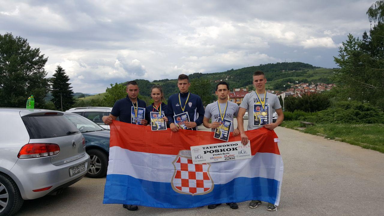 5 medalja za Poskoke u Visokom