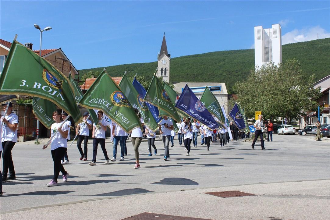 Svečano i dostojanstveno obilježen Dan branitelja općine Posušje
