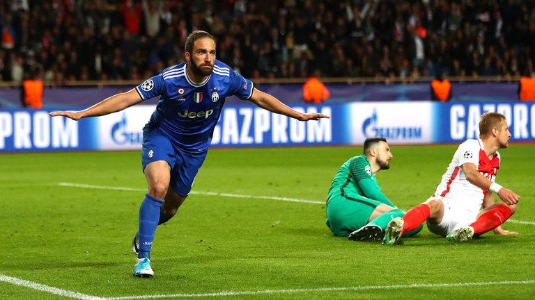 Higuain i Buffon srušili Monacov niz i donijeli veliku prednost Juventusu