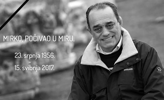 Umro je Mirko Miočić