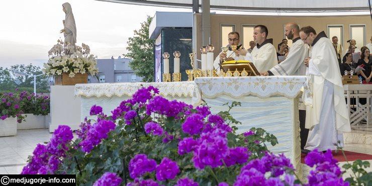 Svečano proslavljena 36.obljetnica Gospinih ukazanja