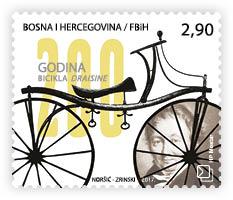 "Nova marka HP Mostar ""200 godina bicikla draisine"""