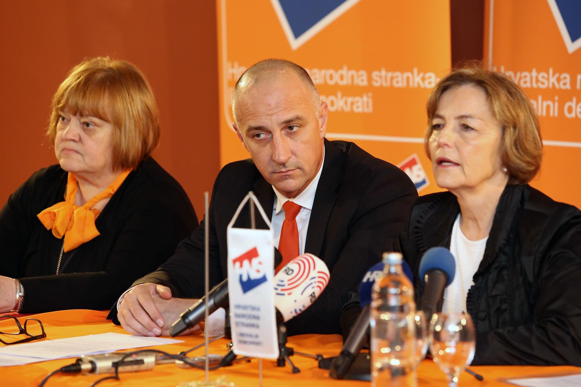 HNS odlučio i ide u koaliciju s HDZ-om! Pusić: Očekujem da će me isključiti