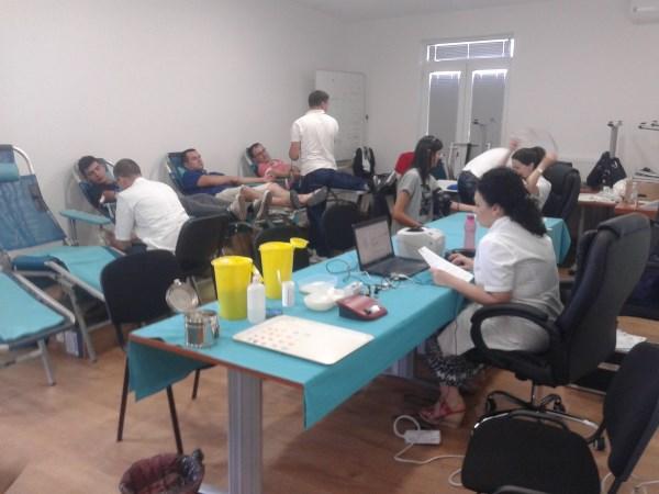 U Binvestu d.o.o. Posušje održana akcija dragovoljnog darivanja krvi