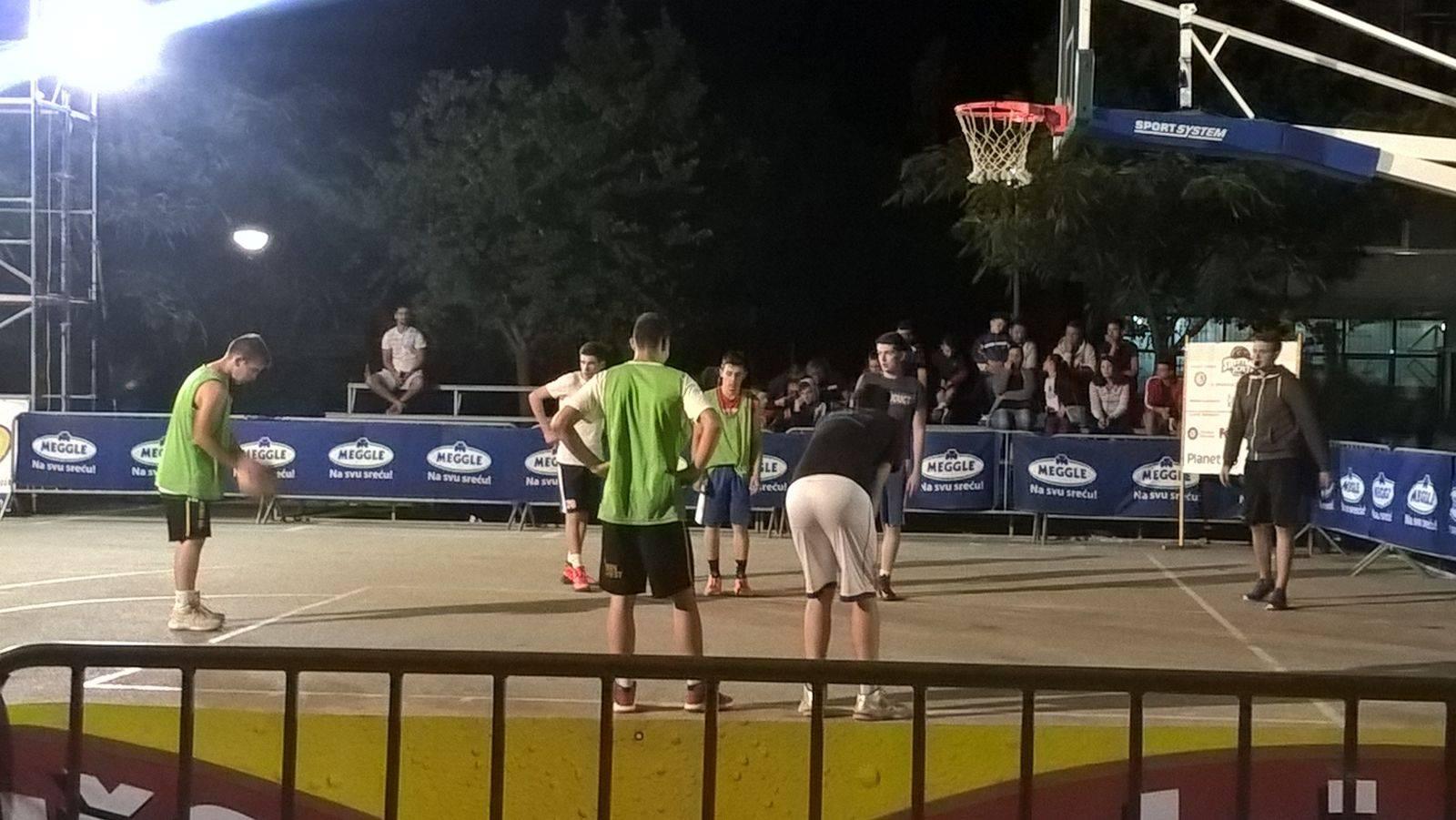 Uspješno privedena kraju i druga večer Streetballa
