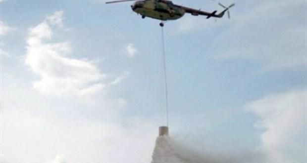 Helikopter nije uspio ugasiti požar; danas na Čvrsnicu ide 100 gasitelja