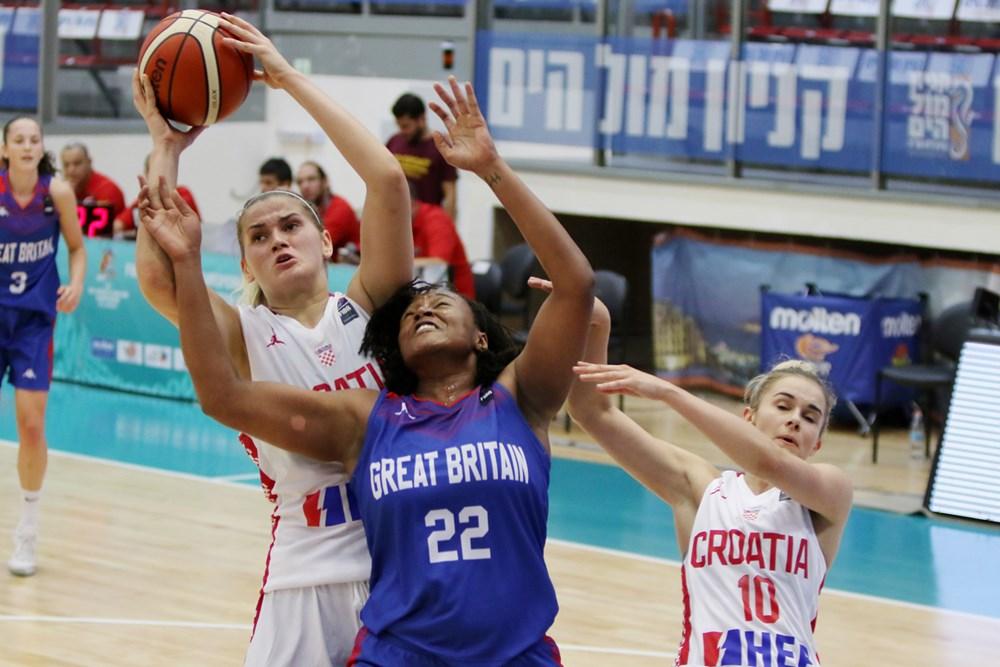 Andrea Marić četvrtim double-doublesom odvela Hrvatsku u polufinale EP