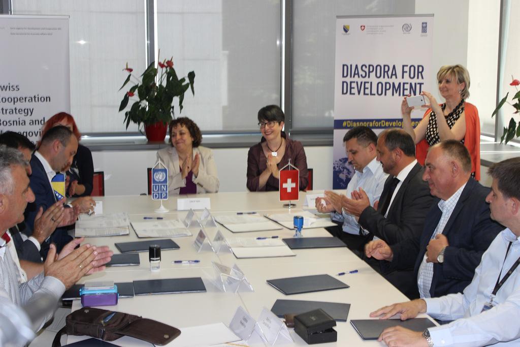 """Projekt """"Dijaspora za razvoj"""" – značajni koraci za razvoj posuškog gospodarstva"""