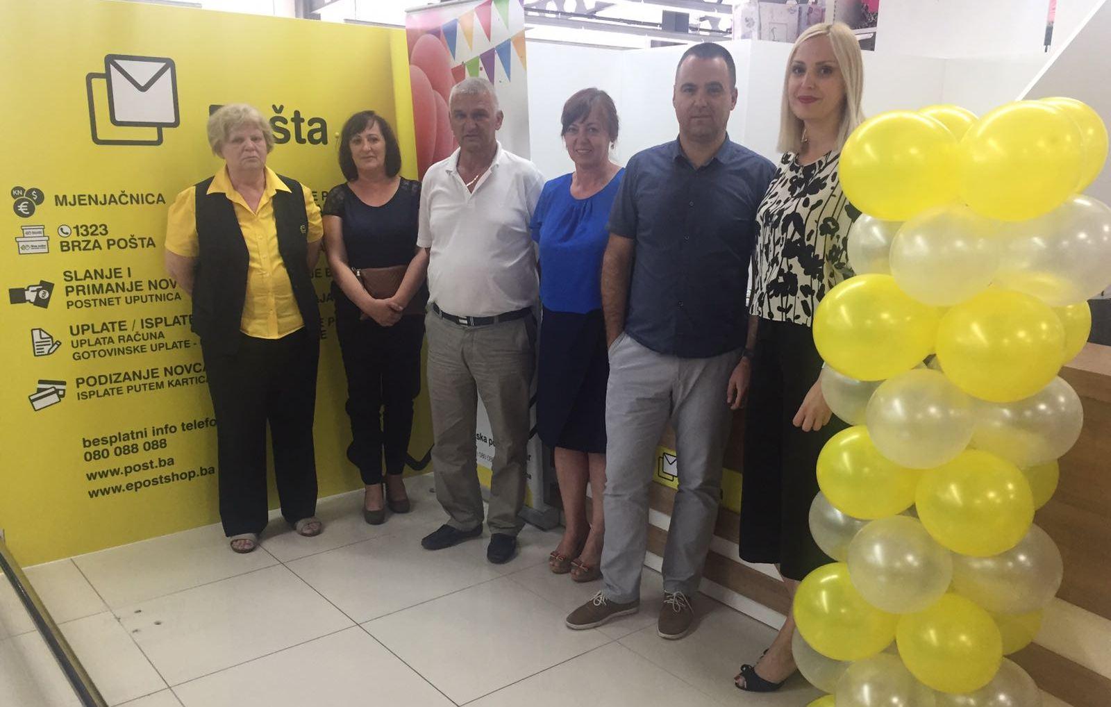 Novi poštanski ured HP Mostar u Posušju
