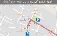 POSUŠJE: Obavijest o regulaciji prometa