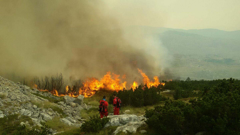 Požar na Čvrsnici pod kontrolom
