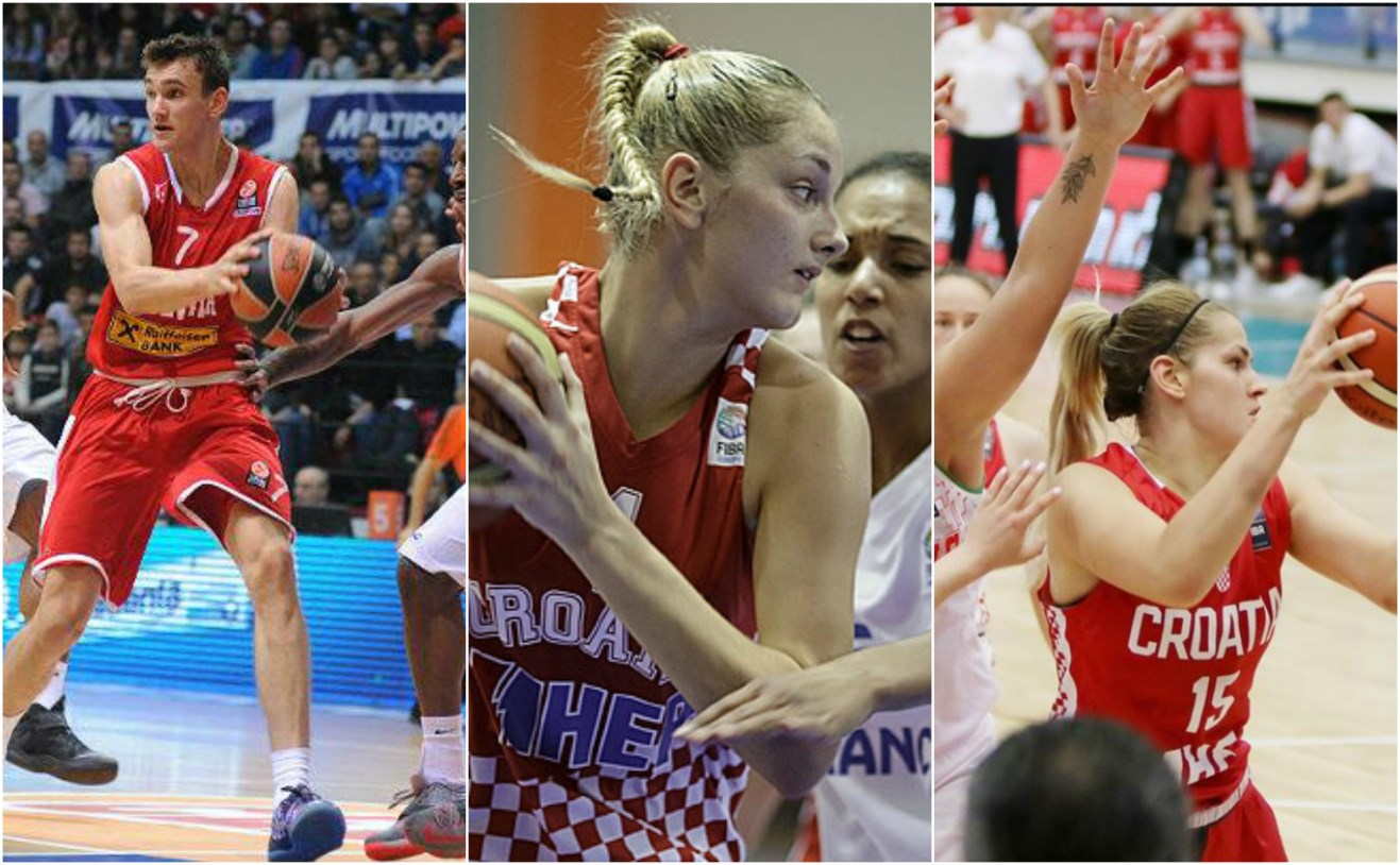 Troje Posušana u najjačim selekcijama hrvatske košarke