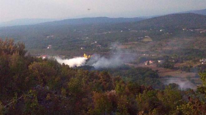 Kanaderi iz Hrvatske u rekordnom roku ugasili požar kod Ljubuškog