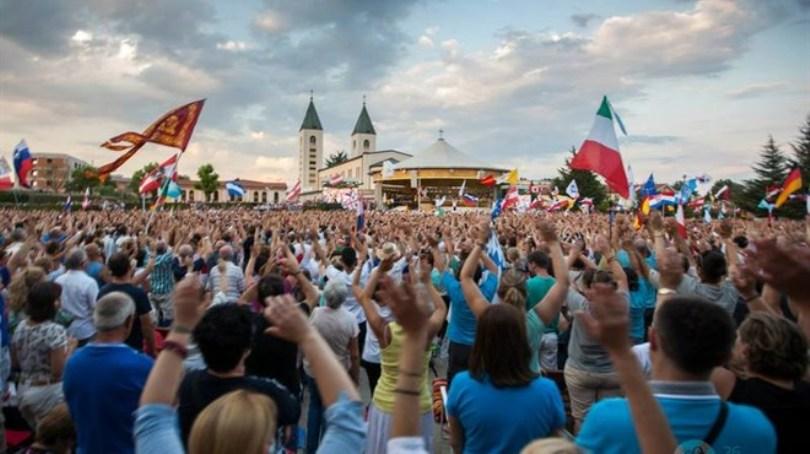 Mladifest u Međugorju okupio tisuće mladih iz cijeloga svijeta