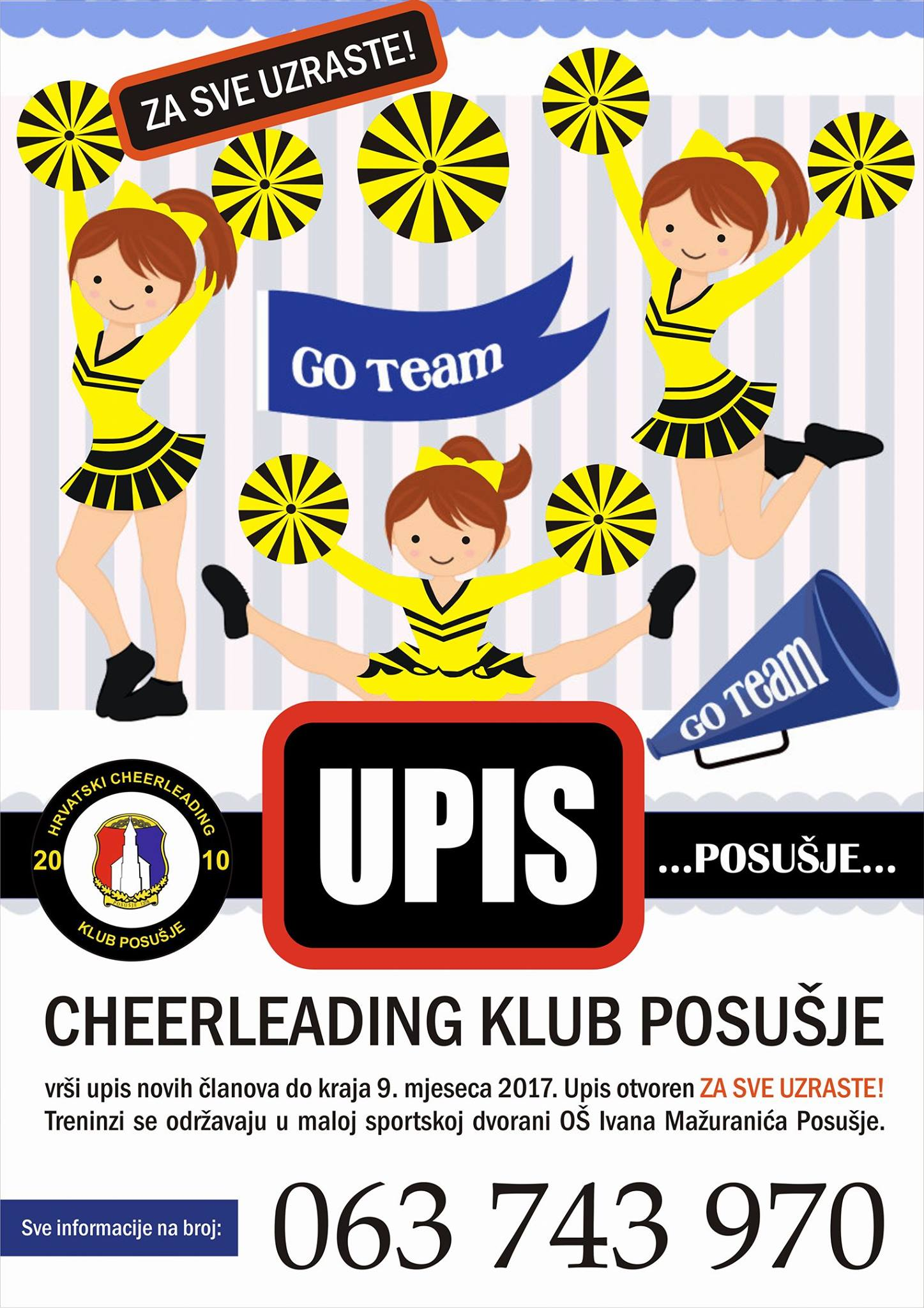 Postanite cheerleadersica!