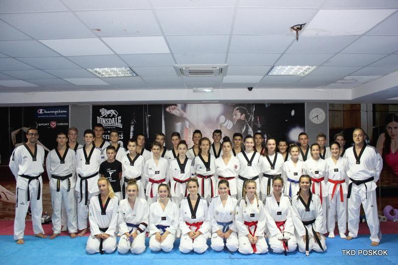 Okupljanje kadetske i juniorske taekwondo reprezentacije BiH