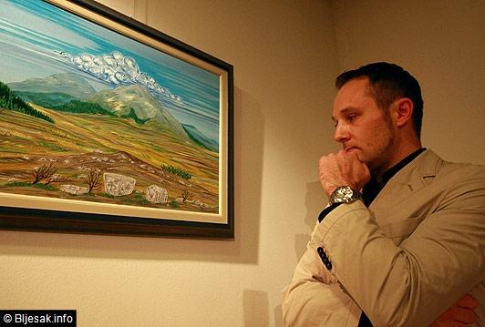 RAMSKI SUSRETI: Izložba slika Mateja Škarice u Zagrebu