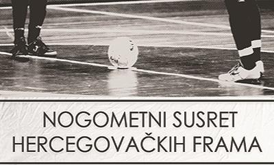Najava: Nogometni susret hercegovačkih frama