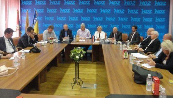 Predsjednišvo HDZ-a BiH dalo podršku Grabar-Kitarović