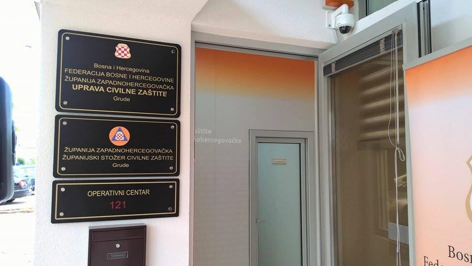 Nove prostorije Uprave civilne zaštite ZHŽ