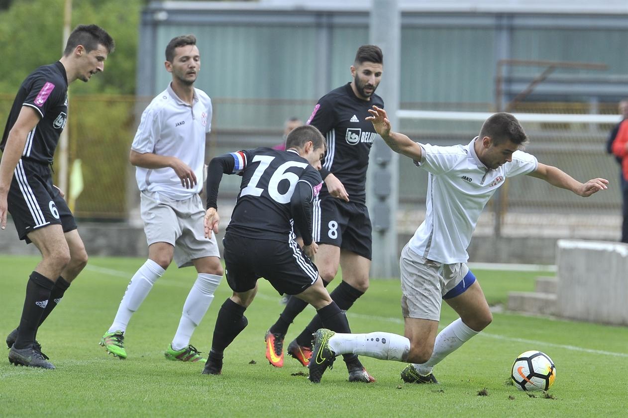 KUP HRVATSKE: Zvonimir Begić igrač utakmice u porazu Croatie (Z) od Slavena Belupa