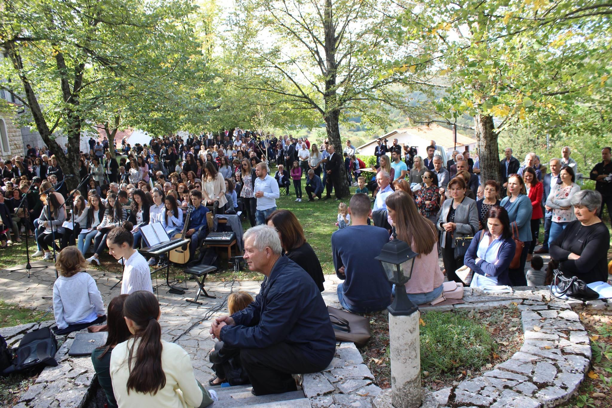 Svečano proslavljen blagdan sv. Franje Asiškog, zaštitnika župe Posuški Gradac