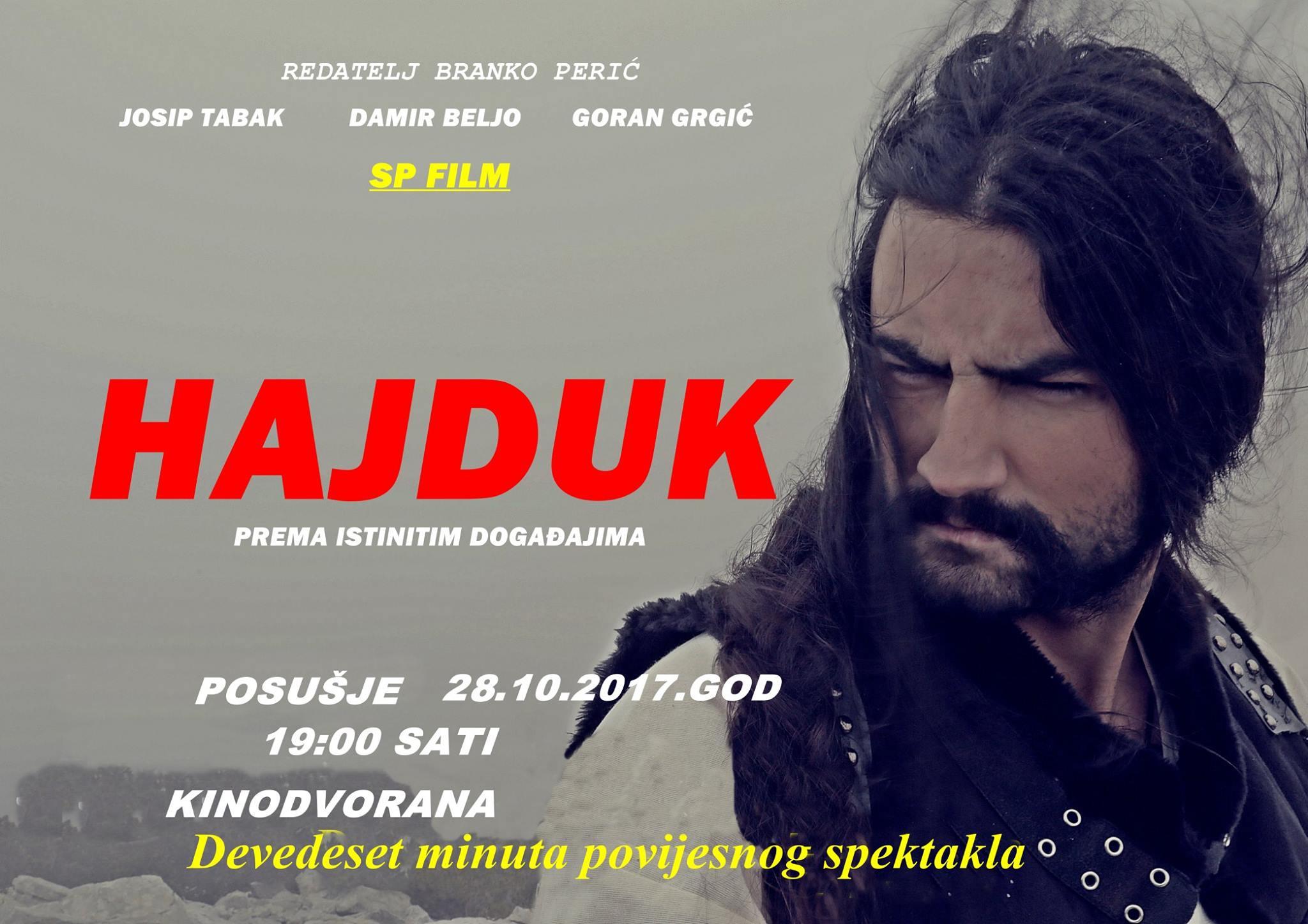 """""""Hajduk"""" film o Mijatu Tomiću ove subote u Posušju"""