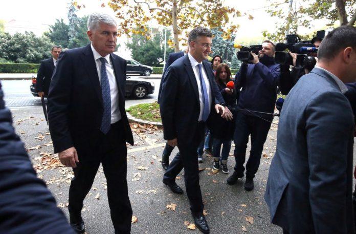 Plenković i Čović: Važno je da izborni sustav u BiH bude pravičan i rezultira izborom legitimnih predstavnika svih triju konstitutivnih naroda