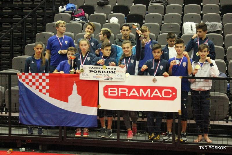"Dominacija ""Poskoka"" u Splitu – 8 zlatnih medalja"