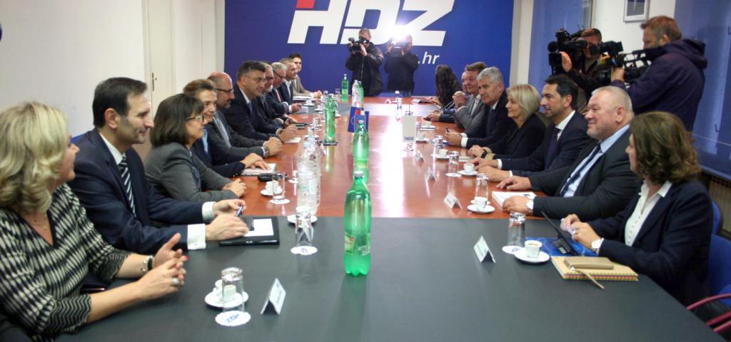 Održana zajednička sjednica Predsjedništva HDZ-a BiH i HDZ-a RH