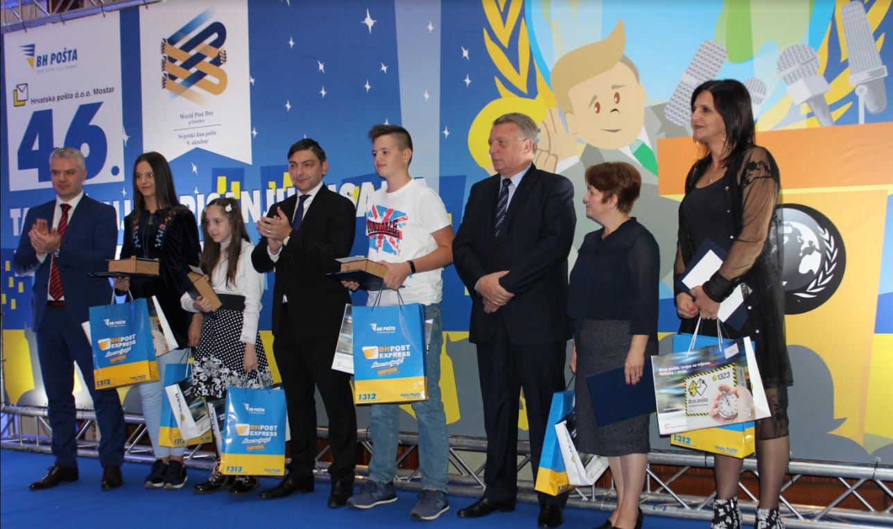 Na svečanosti u Sarajevu uručene nagrade za najljepše pismo mladih BiH 2017.