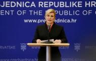 Nakon presude šestorici javnosti se obratila Kolinda Grabar-Kitarović
