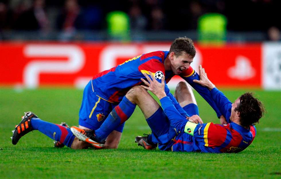 Spektakularne škarice Griezmanna, Basel šokirao Manchester United