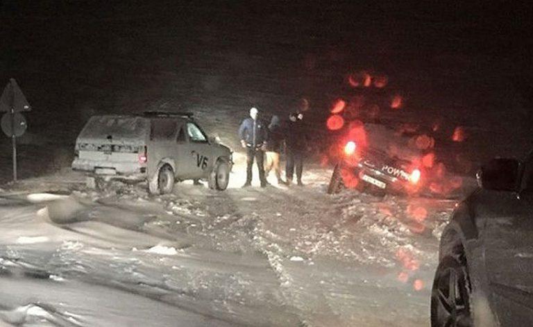Blidinje: Snijeg prouzrokovao probleme u prometu