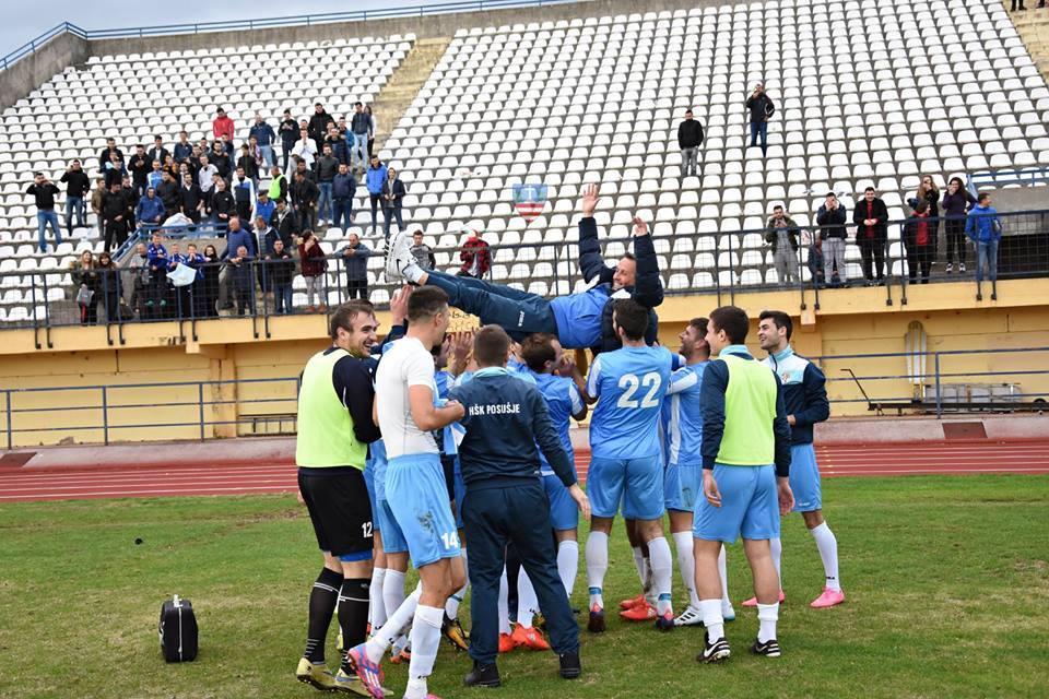 HŠK POSUŠJE: Simbioza navijača, igrača, stručnog stožera i vodstva kluba zaslužna za osvojeni naslov!