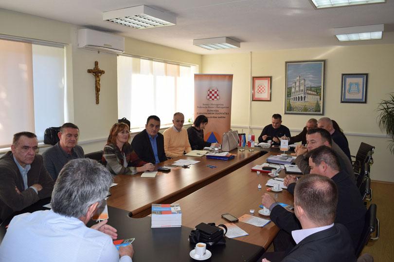U Grudama sastanak Uprava CZ ŽZH i HBŽ sa Uredima za zaštitu i spašavanje Šibenika i Splita